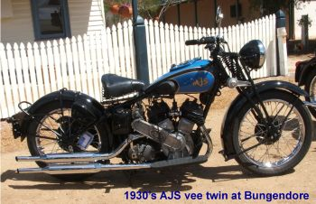 AJS v twin
